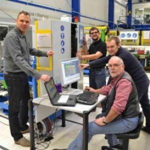 Gruppenbild der Programmierabteilung