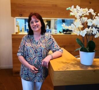 Andrea Schäfer arbeitet seit 10 Jahren bei der Firma TARTLER