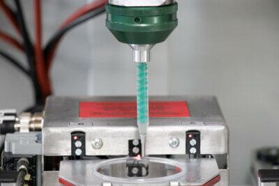 Dosiermischkopf LV 2/2 für hochpräzise Kleinstmengen-Anwendung