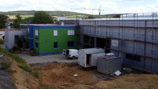 Erweiterung der Produktionsstätte Michelstadt