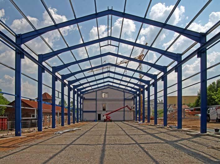Neues Verwaltungsgebäude und Produktionshalle in Michelstadt