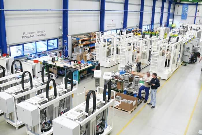 Einstieg in die Produktion von Großanlagen für die Windindustrie