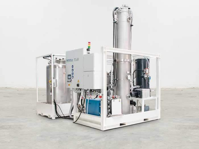 Vakuum-Entgasungsstation T-EVAC