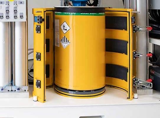 Vacuum drum, open (color on customer request)