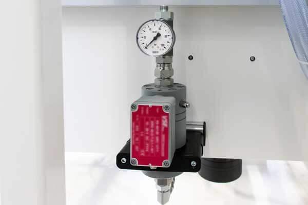 Volume flow controller